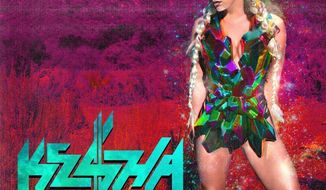"Album cover for Ke$ha ""Warrior""."