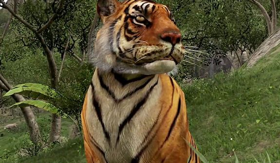 This is Far Cry 3 and not Kinectimals, so don't pet the kitty.