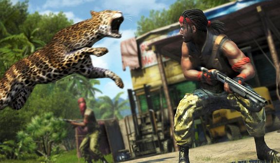 Expect the unexpected in the video game Far Cry 3.