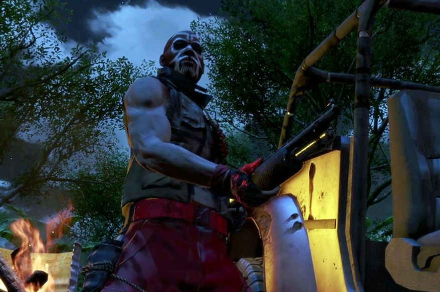 Enemies are ready to attack in the video game Far Cry 3.