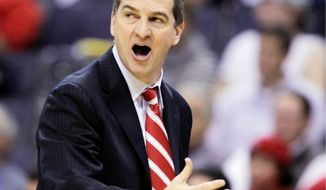 ** FILE ** Maryland coach Mark Turgeon (AP Photo/Luis M. Alvarez)