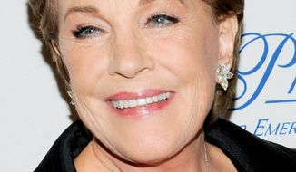 Julie Andrews (AP photo)