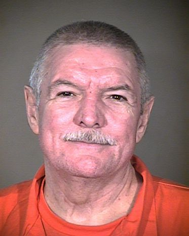 Arizona executed Richard Dale Stokley on Wednesday, Dec. 5, 2012, for the 1991 murders of two 13-year-old girls. (AP Photo/Arizona Department of Corrections)