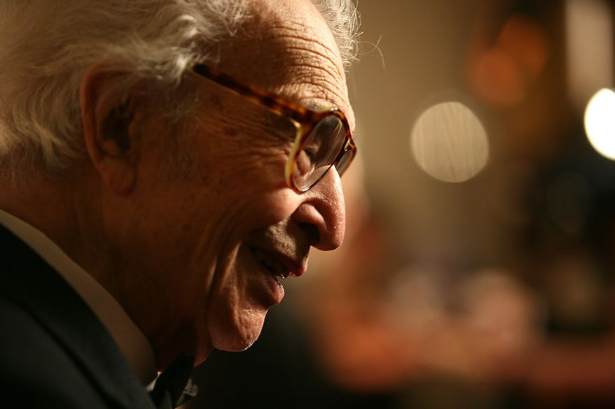 Dave Brubeck arrives at the Kennedy Center for the Kennedy Center Honors in Washington, DC, on December 6, 2009. (Katie Falkenberg / The Washington Times)