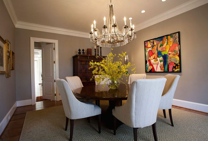 Photograph provided by Waterlily Interiors  Devising a budget is critical, so your designer will know whether to shop for a $500 light fixture or a $5,000 chandelier.