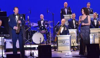 ** FILE ** The U.S. Air Force Band's Airmen of Note