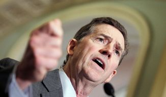 ** FILE ** Jim DeMint resigned from his U.S. Senate seat representing South Carolina to take leadership at the Heritage Foundation, a conservative Washington-based think tank. (Associated Press)