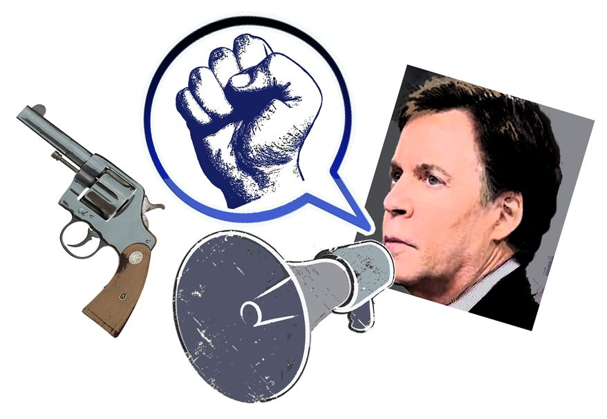 Illustration Costas Rant by John Camejo for The Washington Times