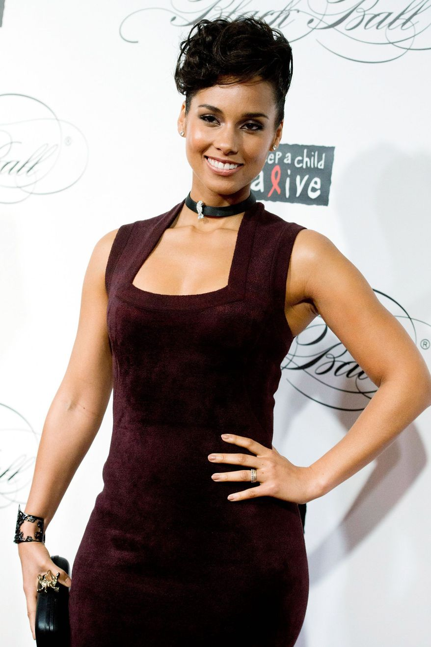 A pledge of $1 million helped singer Alicia Keys raise more than $1.3 million for her Keep a Child Alive charity. (Associated Press)