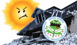 Illustration EPA House by Greg Groesch for The Washington Times