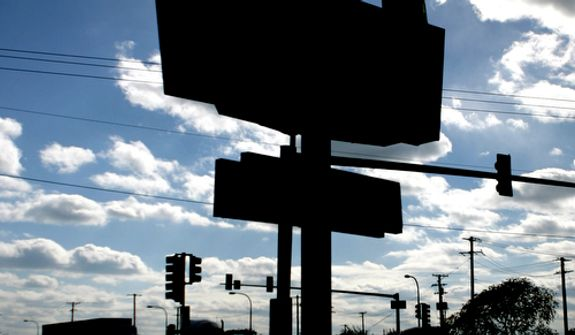 **FILE** A McDonald's logo is seen outside one of the company's restaurants in Chicago near North Side on Oct. 12, 2006. (Associated Press)