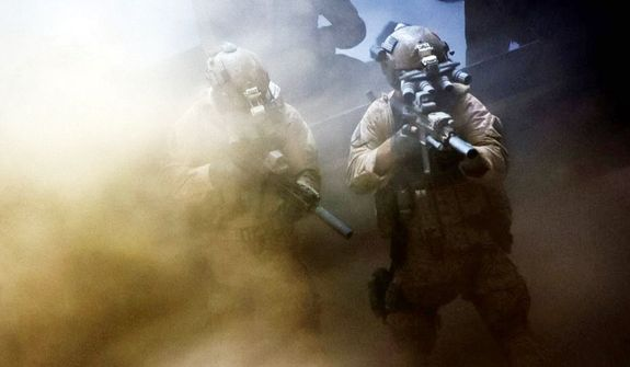 "Scene from ""Zero Dark Thirty."" (Associated Press)"