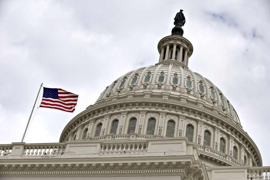 The Capitol dome is seen on Capitol Hill in Washington on Tuesday, Dec. 11, 2012. (Associated Press)