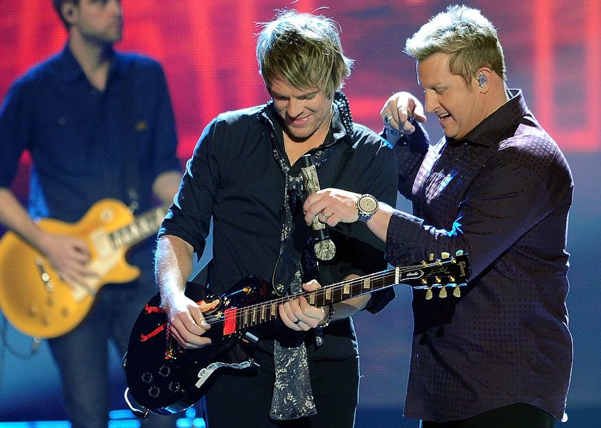 The Rascal Flatts perform during the American Country Awards on Monday, Dec. 10, 2012, in Las Vegas. (Al Powers/Powers Imagery/Invision/AP)