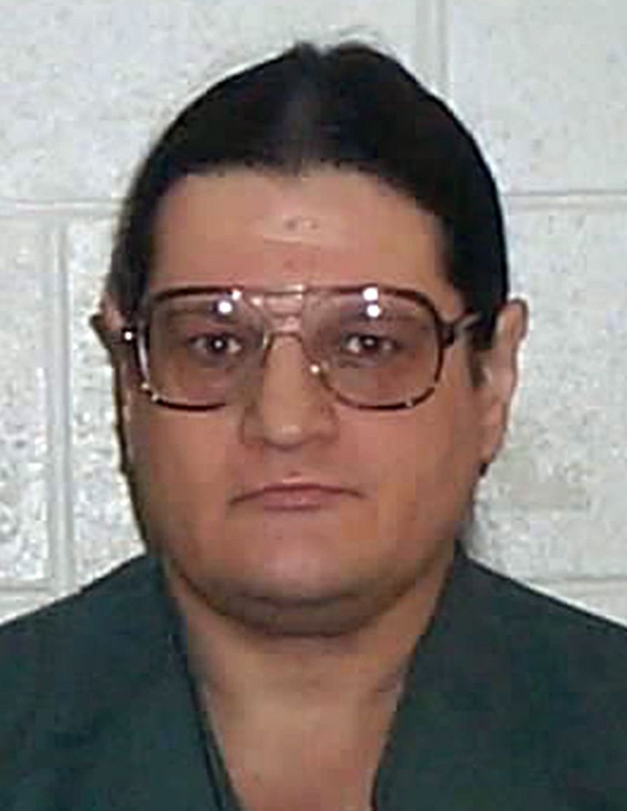 **FILE** This undated photo provided by the Idaho Department of Correction shows death row inmate Paul Ezra Rhoades. Rhoades was convicted of three murders in Idaho Falls and Blackfoot in 1988 and sentenced to death for two of them. (Associated Press/Idaho Department of Correction)