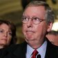 **FILE** Senate Minority Leader Mitch McConnell, Kentucky Republican, at the Capitol in Washington on Tuesday, July 20, 2010. (AP Photo/J. Scott Applewhite)