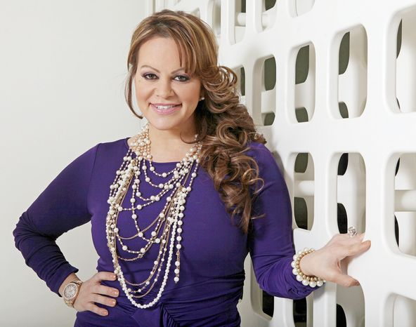 Mexican-American singer and reality TV star Jenni Rivera died in the crash of an airplane early Sunday after she performed a concert in Monterry, Mexico. (Associated Press)