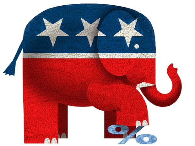 Illustration: Republicans by Alexander Hunter for The Washington Times