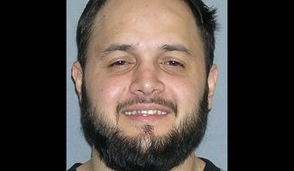 Shaker Masri, 29, of Chicago was sentenced in federal court in Chicago on Wednesday, Dec. 12, 2012, for plotting to attend a training camp in Somalia to become a suicide bomber for the terrorist groups al Qaeda and al-Shabab. (AP Photo/U.S. Marshals Service)