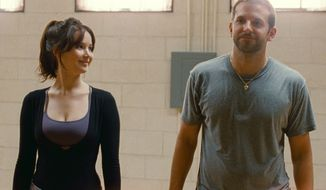 """Jennifer Lawrence and Bradley Cooper star in the film """"Silver Linings Playbook."""" (AP Photo/The Weinstein Co., JoJo Whilden)"""