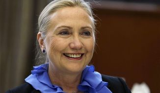 Secretary of State Hillary Rodham Clinton (Associated Press)