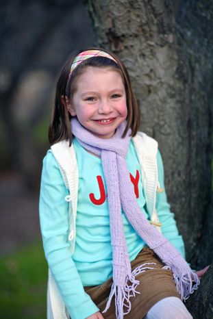 Olivia Engel, 6, was one of the 20 children killed on Friday, Dec. 14, 2012, when a gunman opened fire at Sandy Hook Elementary School in Newtown, Conn. (AP Photo/Engel Family, Tim Nosezo)