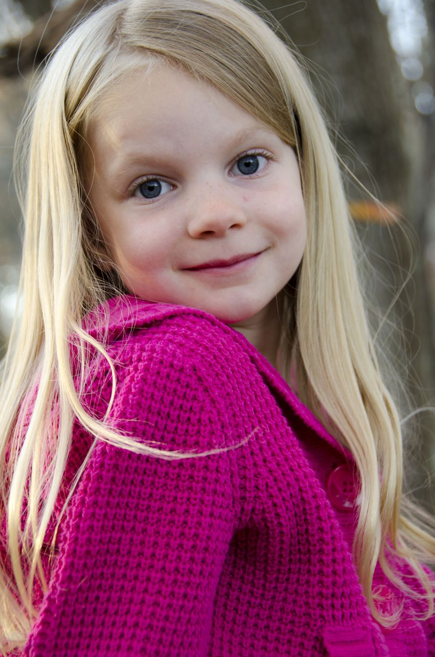 Emilie Parker was one of 20 schoolchildren killed on Friday, Dec. 14, 2012, when a gunman opened fire at Sandy Hook Elementary School in Newtown, Conn. (AP Photo/Courtesy of the Parker Family)