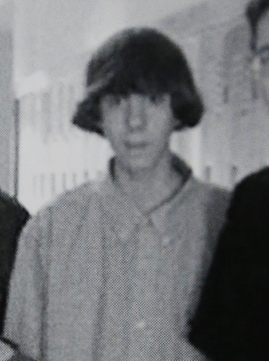 Adam Lanza poses for an undated group photo of the Technology Club that appeared in the Newtown (Conn.) High School yearbook. (AP Photo)
