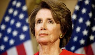 ** FILE ** House Minority Leader Nancy Pelosi. (Associated Press)