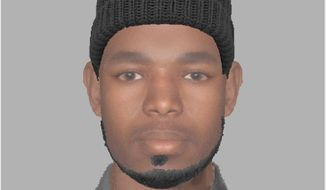 This is a composite of the suspect in the sexual assault of a 15-year-old Woodbridge girl. Photo from Prince William County Police.