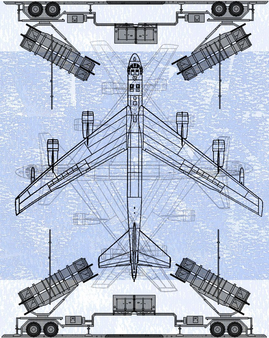 Illustration Patriot Missile System by Alexander Hunter for The Washington Times