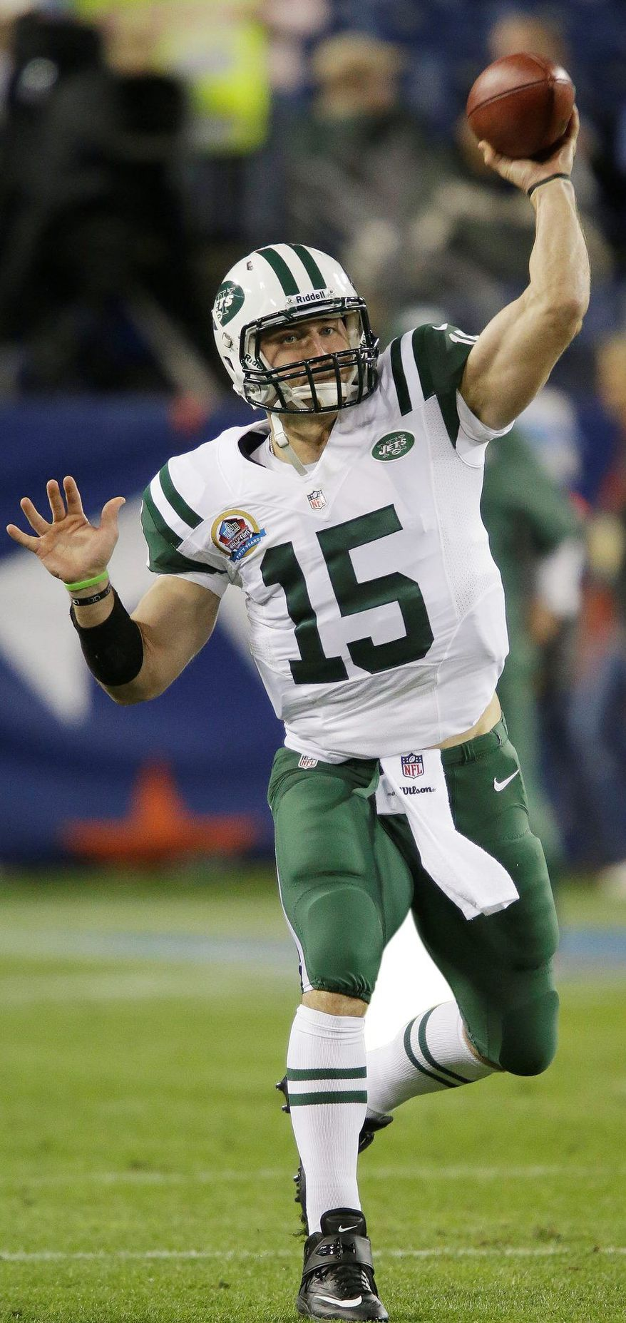 Tim Tebow has been cast adrift in New York. (Associated Press)