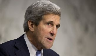 ** FILE ** Secretary of State John F. Kerry. (AP Photo/J. Scott Applewhite)