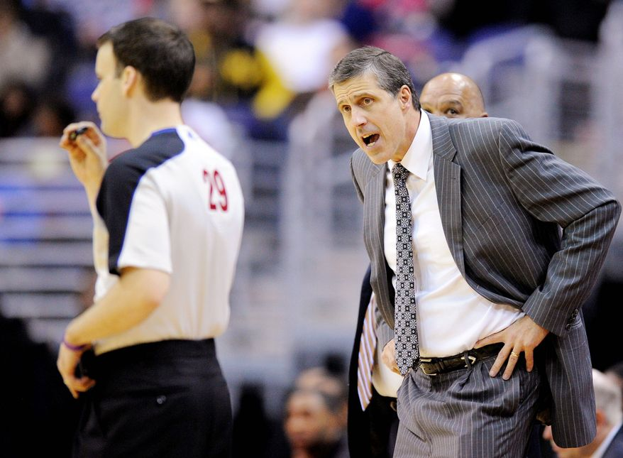 Wizards coach Randy Wittman on Saturday used his 10th different starting lineup in a bid to find a combination that will provide some consistency. Washington is 3-22 and has lost seven straight games. (Associated Press)