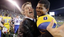Coach Mike MacIntyre had turned San Jose State into a Top 25 program before leaving to undertake the rebuilding project at Colorado. Defensive coordinator Kent Baer will guide the Spartans in the Military Bowl. (Associated Press)