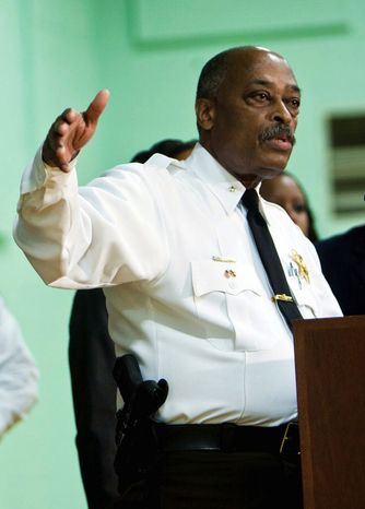 Prince George's County Sheriff Melvin C. High (The Washington Times)