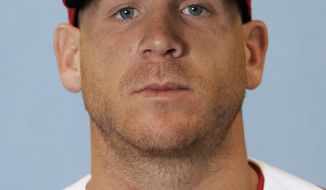 FILE - In this 2007 file photo, Ryan Freel of the Cincinnati Reds poses for a photo in Sarasota, Fla.  Freel has been found dead in his Florida home, and authorities are investigating his death as a possible suicide from a self-inflicted gunshot wound. Jacksonville Sheriff's Office spokesman Shannon Hartley said Sunday, Dec. 23, 2012, that the 36-year-old Freel's body was found at his Jacksonville home Saturday afternoon. The medical examiner will make the final determination of the cause of death. (AP Photo/Al Behrman, File)
