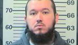 "Randy ""Rasheed"" Wilson of Mobile, Ala., is charged with plotting to join violent international jihad. (AP Photo/Mobile County-Metro Jail via AL.com)"