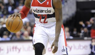 Washington Wizards guard Shelvin Mack will return to the team after being cut after training camp. (AP Photo/Nick Wass)