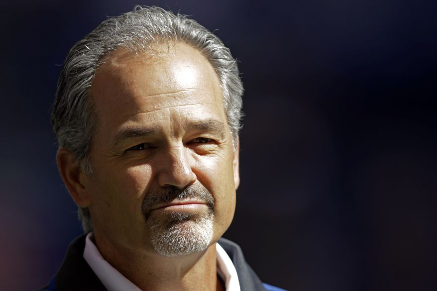 Colts coach Chuck Pagano returned to the team Monday, three months after taking an indefinite leave to battle leukemia. (Associated Press)