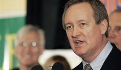 ** FILE ** In this Nov. 2, 2010 photo, U.S. Sen. Mike Crapo, Idaho Republican, gives his victory speech at the Republican Party election headquarters held at the Doubletree Riverside Hotel in Boise, Idaho. Authorities say Crapo has been arrested and charged with driving under the influence Sunday, Dec. 23, 2012 in a Washington, D.C. suburb. (AP Photo/Matt Cilley, File)