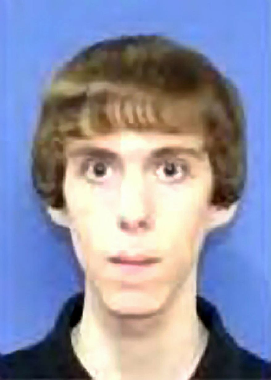 Authorities say Adam Lanza killed his mother at their home and then opened fire inside the Sandy Hook Elementary School in Newtown, Conn., killing 26 people, including 20 children, before taking his own life, on Friday, Dec. 14, 2012. (AP Photo/NBC News)