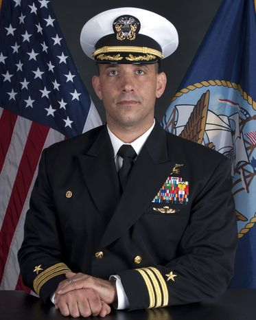 U.S. Navy Cmdr. Job W. Price, 42, of Pottstown, Pa., died on Saturday, Nov. 22, 2012, of an apparent self-inflicted gunshot wound to the head in Uruzgan Province in Afghanistan. (AP Photo/U.S. Navy)