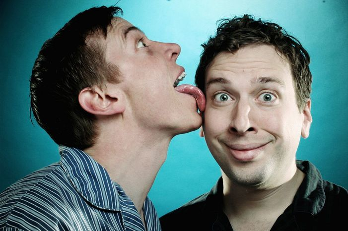 The Pajama Men (comedians Shenoah Allen and Mark Chavez) offer an extremely informal way to ring in the new year with their Mammoth Pajama Party, Monday night at the Woolly Mammoth Theatre.