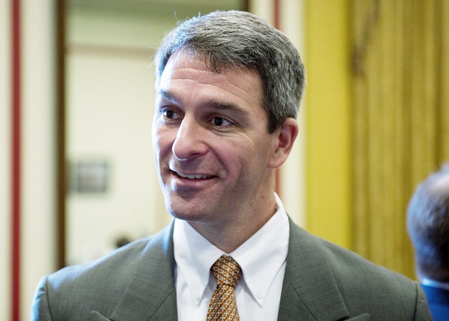 **FILE** Kenneth T. Cuccinelli II (The Washington Times)