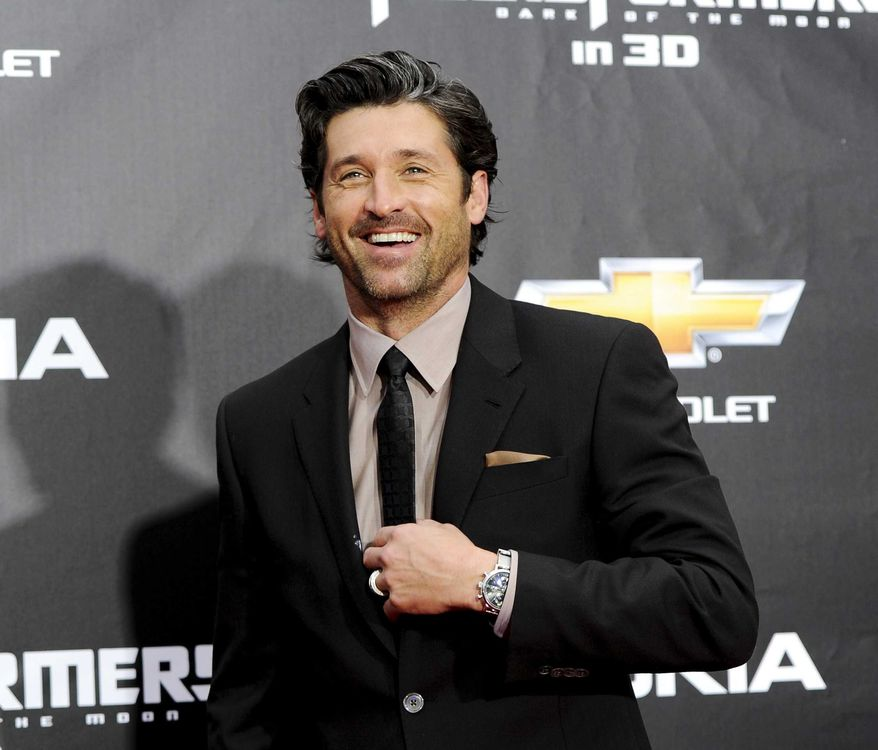 """** FILE ** In this June 28, 2011, file photo, actor Patrick Dempsey attends the """"Transformers: Dark Of The Moon'"""" premiere in Times Square in New York. Dempsey announced on Wednesday, Dec. 26, 2012, that he is leading a group attempting to save hundreds of jobs by buying Seattle based Tully's Coffee. (AP Photo/Evan Agostini, File)"""