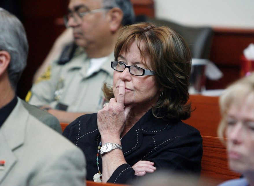 """""""It's a terrible idea. It's a horrible, terrible, no-good, rotten idea,"""" Carol Lear, a chief lawyer for the Utah Office of Education, said of arming educators. (Associated Press)"""
