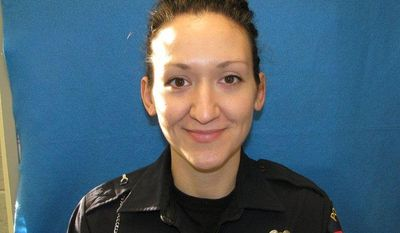 Wauwatosa, Wis., police Officer Jennifer L. Sebena was found shot to death on Monday, Dec. 24, 2012. Her husband has been arrested in the case. (AP Photo/Wauwatosa Police Department)