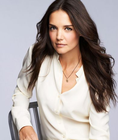 Katie Holmes, First-Ever Celebrity Face of Bobbi Brown Cosmetics. (PRNewsFoto/Bobbi Brown Cosmetics)
