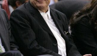 FILE - This Jan. 9, 2008 file photo shows Los Angeles Clippers owner Donald Sterling during an NBA basketball game in Los Angeles.  Sterling's son has been found dead of a possible drug overdose in Malibu, Calif. Los Angeles County coroner's Lt. Larry Dietz says 32-year-old Scott Ashley Sterling was found dead Tuesday night, Jan. 1, 2013, at a home on Pacific Coast Highway. (AP Photo/Mark J. Terrill,File)